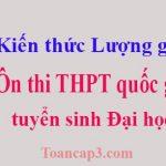 Tổng hợp kiến thức lượng giác ôn thi THPT quốc gia